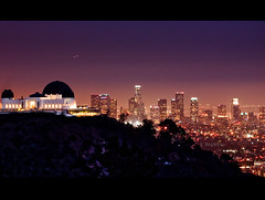 Metropolis (Emmanuel_D.Photography) Tags: california city longexposure night lights la losangeles downtown observatory le griffithpark astig 70200f4l canon50d emmanueldasalla