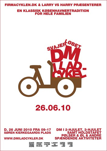 Svajerløb / DM for Ladcykler Poster Prototype 02