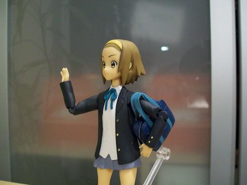 Ritsu with her bag.