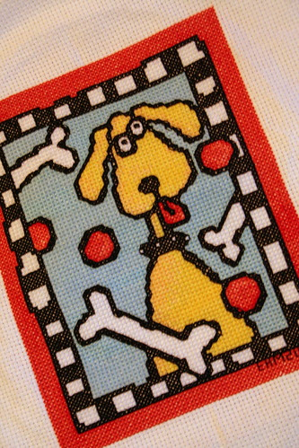X-Stitch Kit: Dog for the Kiddos