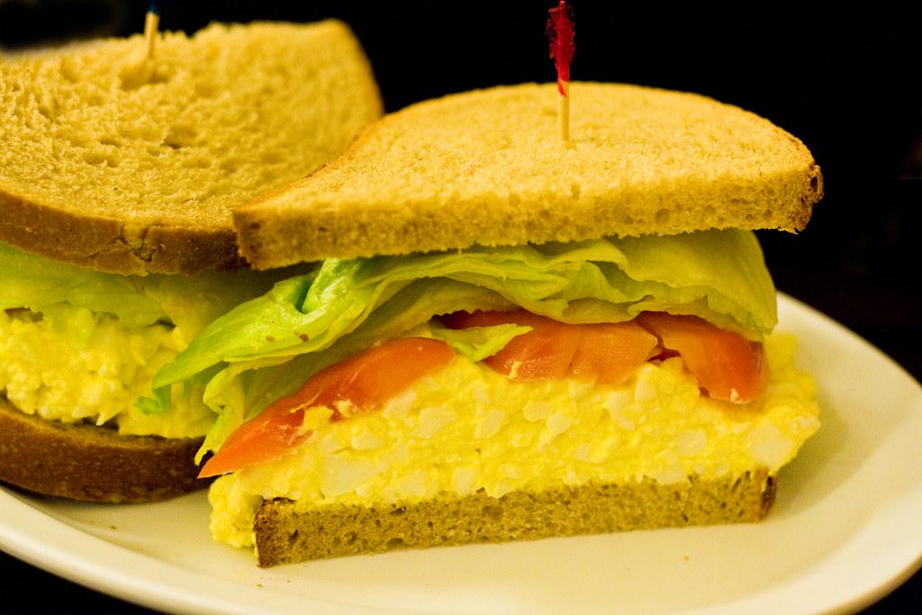 Egg salad sandwich, Eisenberg's