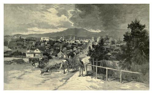 015-Ciudad de Goulburn Nueva Gales del Sur-Australasia illustrated (1892)- Andrew Garran