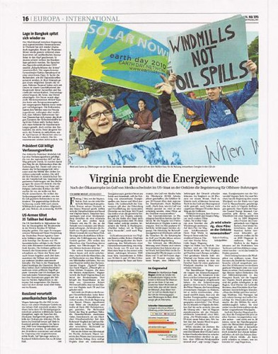 Wagner Article in Financial Times Deutschland