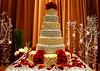 Zed & Natalias wedding cake