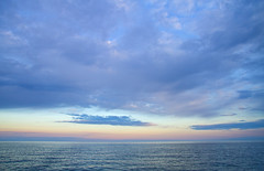 Lake Ontario Morning (Matt Champlin) Tags: morning red sky lake fish beautiful rain clouds sunrise canon boat spring fishing scenery o scenic calming peaceful stormy calm rainy boating upstatenewyork simple fairhaven springtime oswego browntrout trolling redskymorning oswegocounty lakeontariosunrise trollinglakeontario
