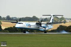 G-ECOF - 4216 - FlyBe - De Havilland Canada DHC-8-402Q Dash 8 - Luton - 100921 - Steven Gray - IMG_9768
