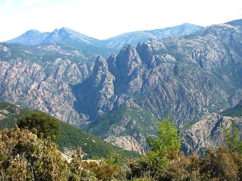 Crêtes de Marignana : parois d'I Cascioni et canyons de la Spelunca et de la Tavulella