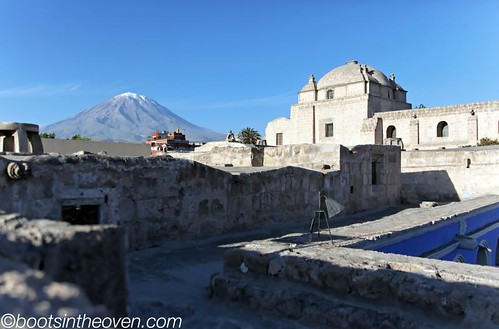 View of one of Arequipa's volcanoes