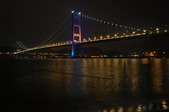 (lamlamlam) Tags: bridge night hongkong    tsingmabridge