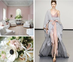 pink neutrals (coco+kelley) Tags: pink flowers white nude grey room bouquet runway neutrals