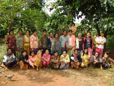 Samon Chork Group in Cambodia , one of our Kiva loans today