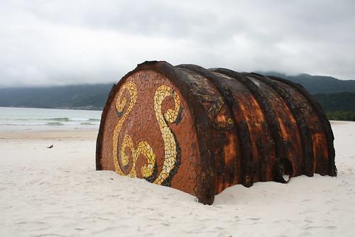 brasil angra dos reis ilha grande lopes mendes paraiso paradisiaca praia agua cristalina barril areia