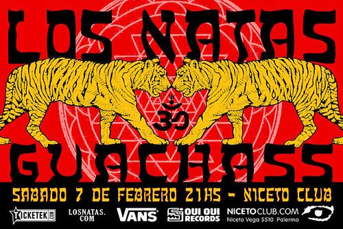 Los Natas + Guachass