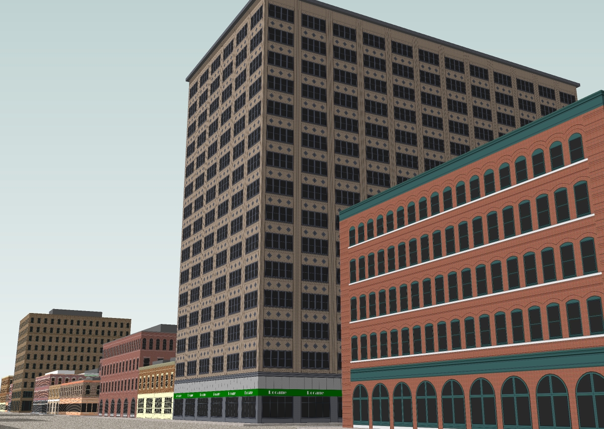 how to make a city in sketchup