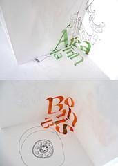 Guille's final piece of work (alumnosletrerias) Tags: collage marks lettering calligraphy letras caligrafa gestual gestos gestural beautifulwriting silviacorderovega bellaescritura