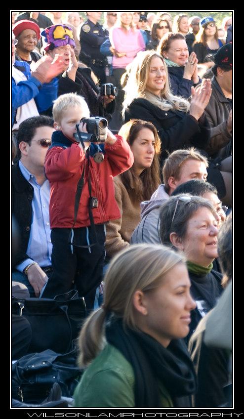 Yerba Buena Gardens Obama Inauguration '09 - 5