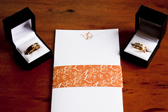 The closed invitations and the wedding rings (Alistair & Liam) Tags: gay wedding motif guests al liam exquisite alistair throne invites invitations weddingrings weddinginvitations weddingceremony initials gaywedding interviews booklets weddinginvites ringbox allogo oricha wedders alistairliam weddingmotif almotiff 2grooms threefoldinvitations almotif motifsash