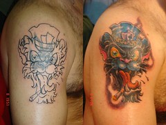(Tattoos By Alf) Tags: alf gato tauajes