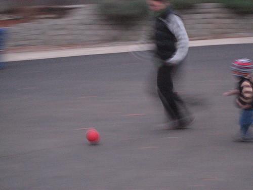 kick and chase