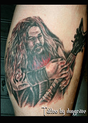 and this guy (dug grave @ T.H.C. ink) Tags: portrait musician tattoo ink guitar rip 420 tattoos dime thc dimebag pantera damageplan tattooing tats blackandgray duggrave thcink taintedheartscustom