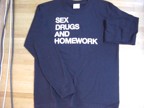SEX DRUGS AND HOMEWORK / v☆nori