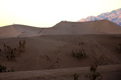 The Little People (wenzday01) Tags: california park ca travel sunset people nature nationalpark sand nikon desert dunes deathvalley nikkor sanddunes stovepipewells deathvalleynationalpark d90 nikond90 18105mmf3556gedafsvrdx