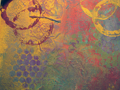 "Close Up 2 of ""Color Collage"""