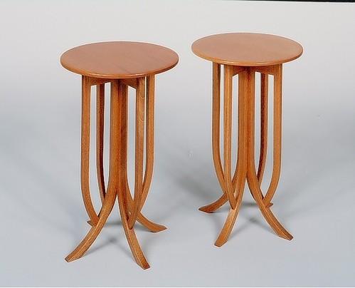 round mahogany