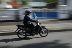 Panning motorcycle
