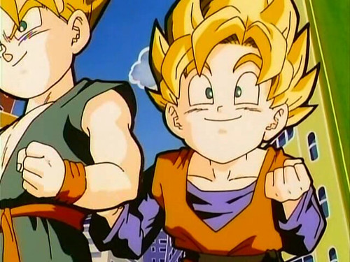 trunks and goten. trunks and Goten