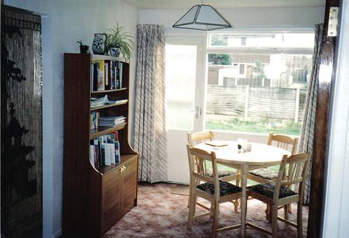 Dining room, 1989