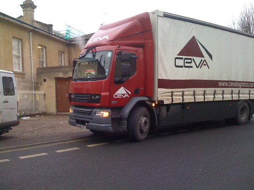 CEVA Logistics - Making Cycles Flow Into Oncoming Traffic