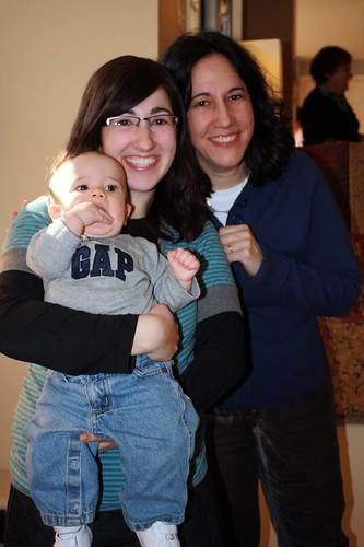 Akiva, Shani, and Janis