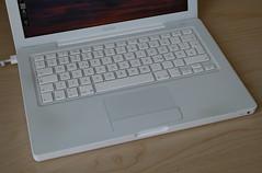 Cracks in the topcase (polaroidmemories) Tags: cracks macbook