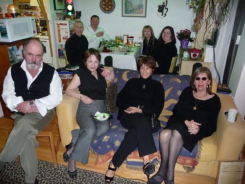 Oscar party 2009