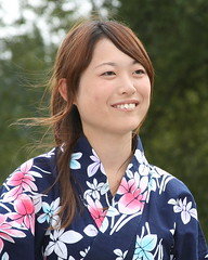 Japanese volunteer at Mount Rainier (1.0) (The Bacher Family) Tags: portrait canon hair japanese teeth kimono volunteer breeze 500v wasedauniversity 1000v jvipa thelightisall photovotr