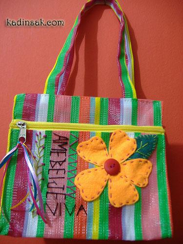 kumaş çanta yapılışı www.kadinsak.com