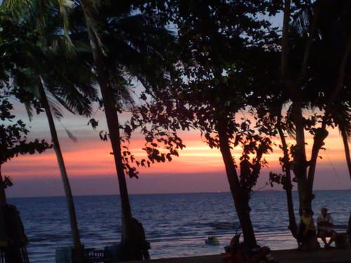Jomtien beach Thailand