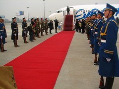 Chinese army meets Eurocypria flight (Photo by Constantine Markides)