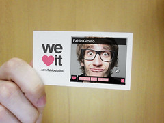 weheartit business card (fabiogiolito) Tags: business card