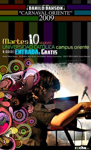 Danilo Dawson Universidad Catolica Carnaval Oriente 2009