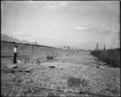 Excavation site of Chicago Drainage Canal