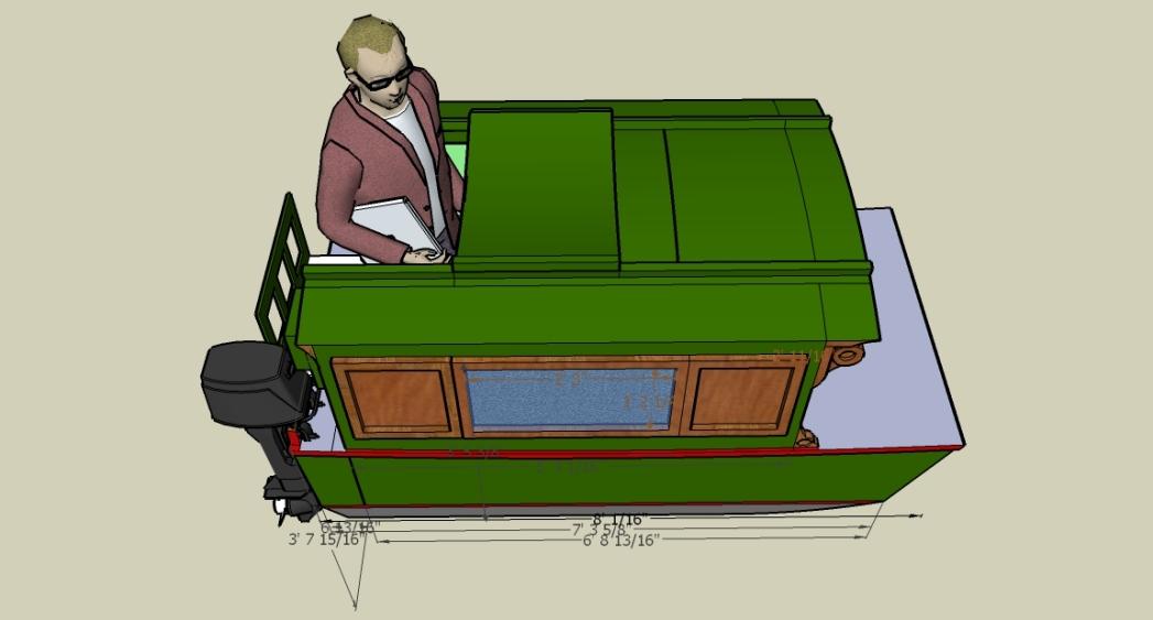 Joli Boat Virtual Build: April 2009