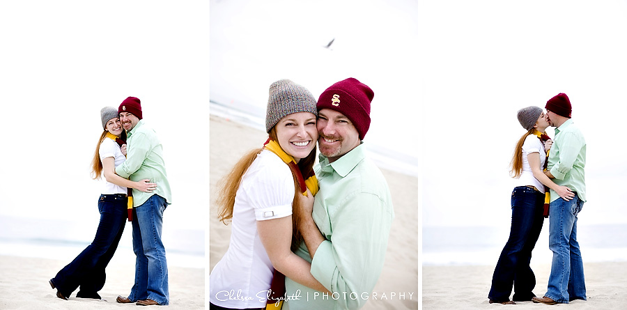USC trojan engagement session