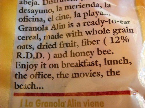 Did I really eat honey bee?