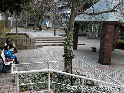 Residential park in Kitano