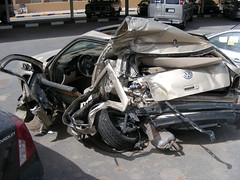 Wrecked Exotics (q8500e) Tags: hot wow cool bad wicked mercedesbenz kuwait wrecked exotics q8 avalanche sclass w140 eclass w210 q8i e290 s600l q8500e