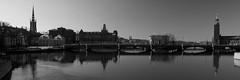 Stockholm (ChrisByrne) Tags: bridge blackandwhite sweden stockholm