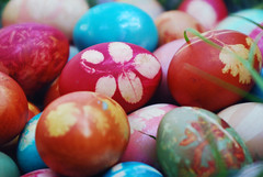 Painted eggs (mihaela muntean) Tags: easter spring handmade romania eggs tradition pasti paintedeggs colouredeggs sarbatorifericite