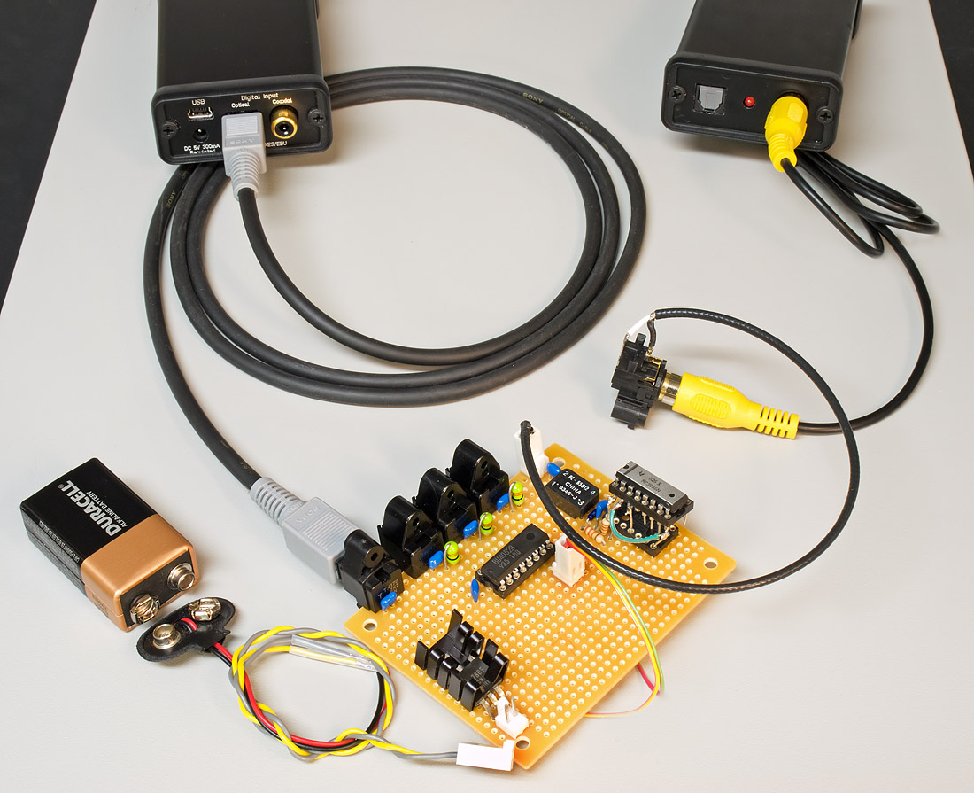 Ic Diy Spdif Switcher Page 2 Headphone Reviews And Discussion Your First Digital To Analog Converter Build Hackaday Img Here Is My